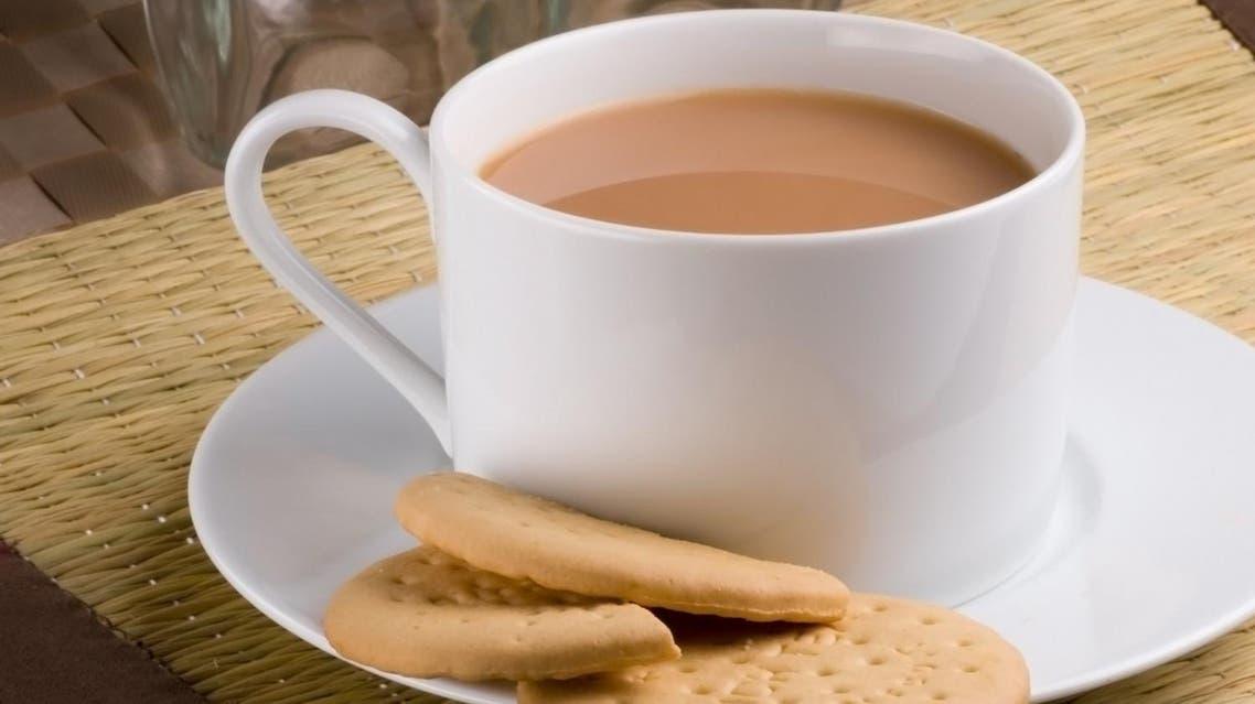 Tea and biscuits. (Shutterstock)