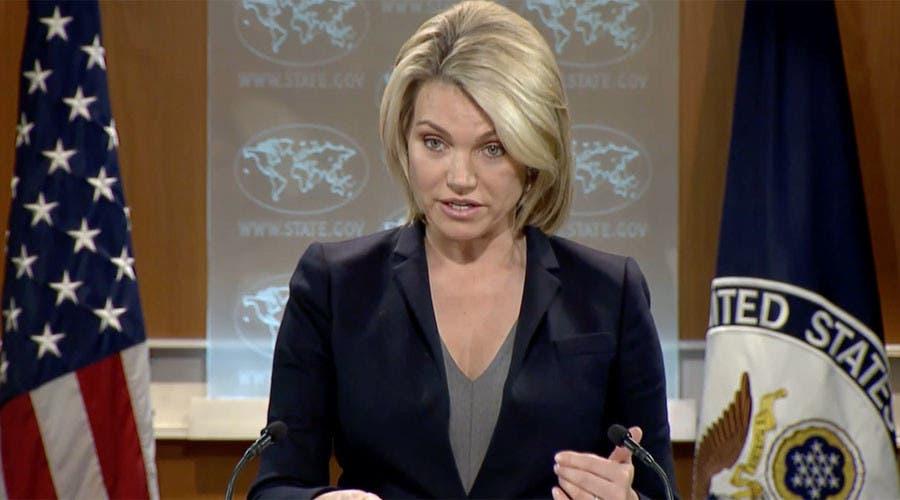 هيذر ناورت المتحدثة باسم الخارجية الأميركية