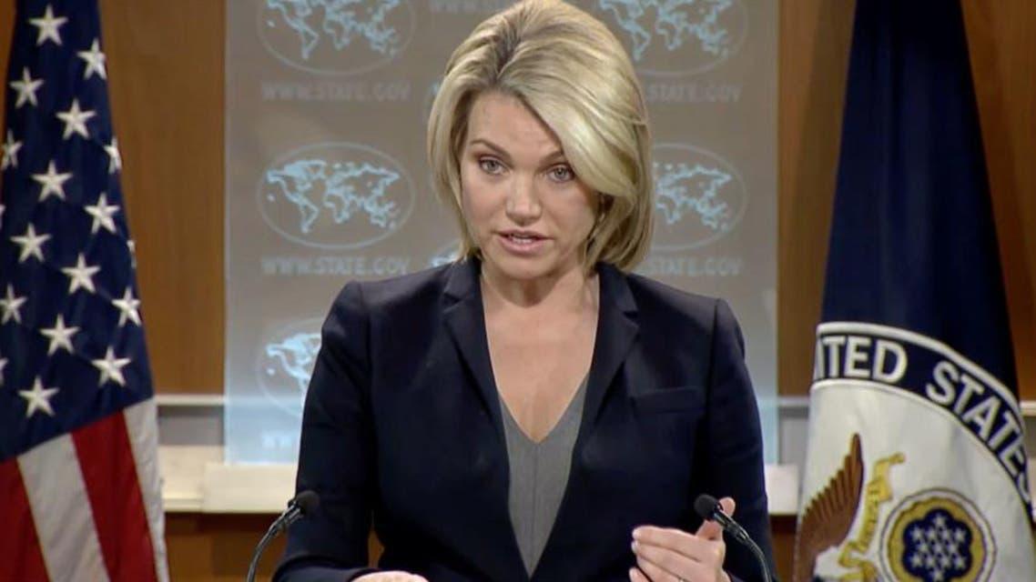 هيذر ناورت المتحدثة باسم  الخارجية الأميركية 3