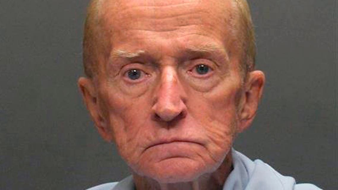 This Jan. 14, 2018 photo shows suspect Robert Francis Krebs, an 80-year-old man, they say robbed a credit union at gunpoint. (AP)