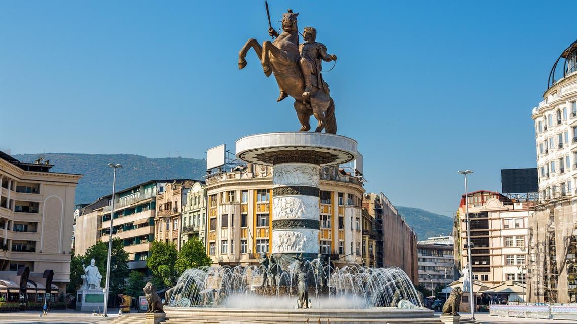 Alexander the Great Monument in Skopje