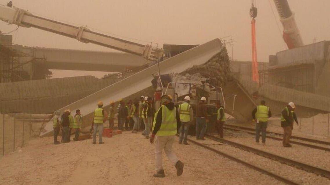 حادث قطار الدمام الرياض