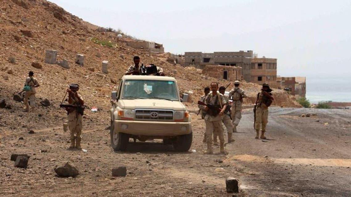 عناصر من الجيش اليمني 3