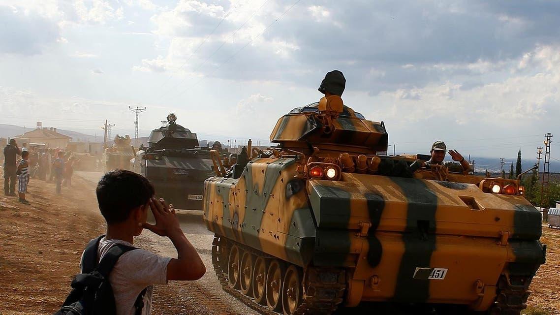 turkish forces (Reuters)