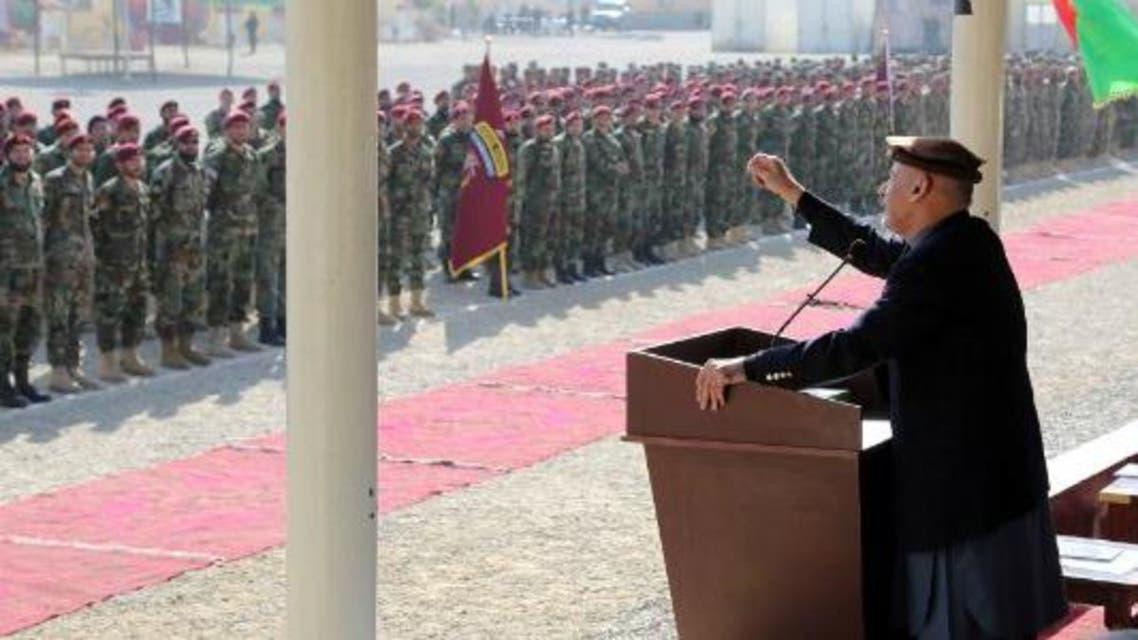 محمد اشرف غنی: سیاست در میان نیروهای امنیتی جای ندارد