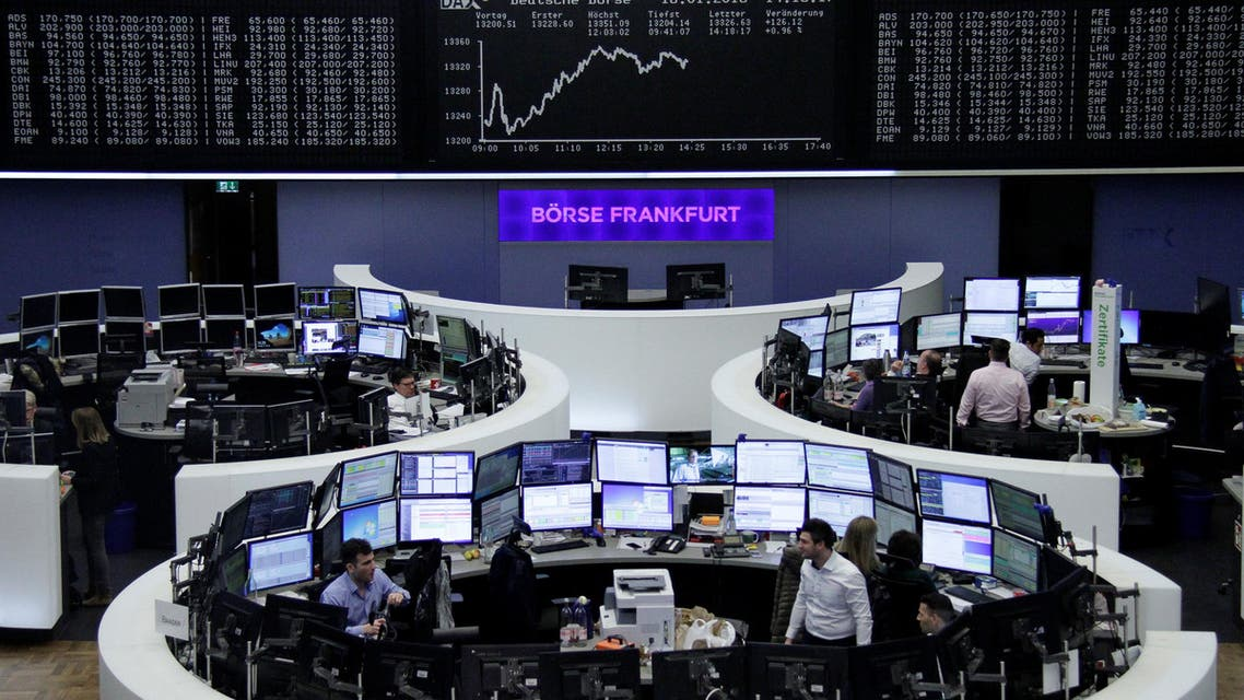 The German share price index, DAX board, is seen at the stock exchange in Frankfurt, Germany, January 16, 2018. REUTERS/Staff/Remote