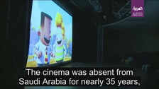 VIDEO: Saudi Arabia's first cinema brand hosts family film festival