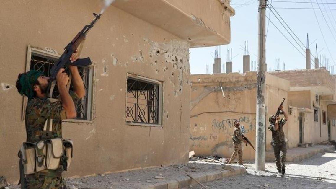 مقاتلون أكراد من وحدات حماية الشعب الكردية السورية  3