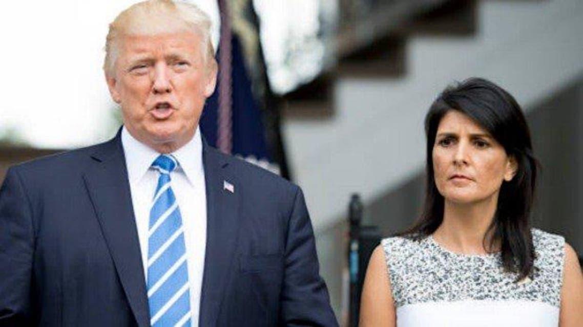 NikkiHaley and DonaldTrump