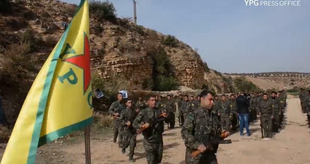 یگانهای مدافع خلق کرد در شمال سوریه
