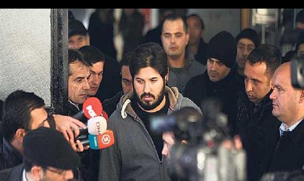 مشهد من محاكمة رضا ضراب