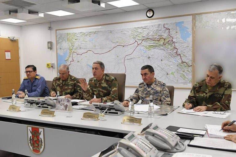 اجتماع لقادة الجيش التركي