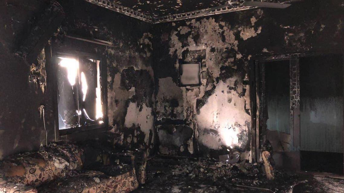 7 أطفال من عائلة واحدة قضوا في الحريق