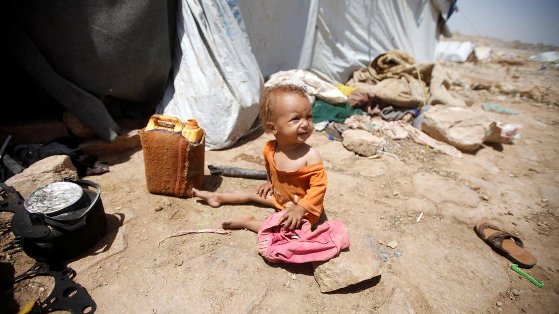 Yemen child. (Reuters)