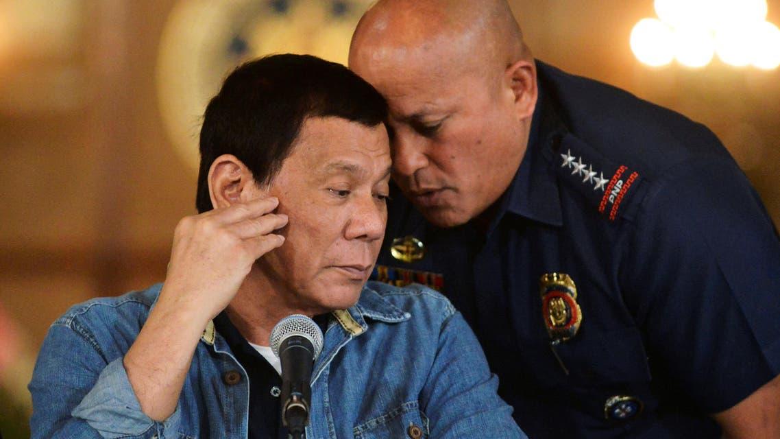 ronald dela rosa philippines. (Reuters)