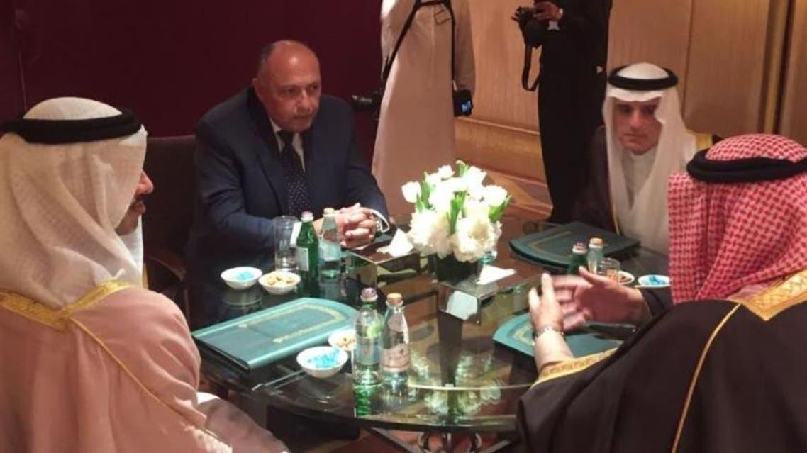من اجتماع الرباعية في الرياض