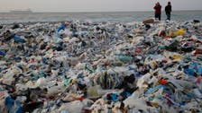 IN PICTURES: Piles of washed up trash on Lebanese shore cause outrage