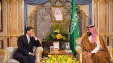 Saudi Crown Prince welcomes US House speaker Paul Ryan in Riyadh