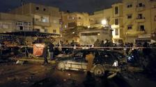 Twin car bombs kill at least 35 in Libya's Benghazi