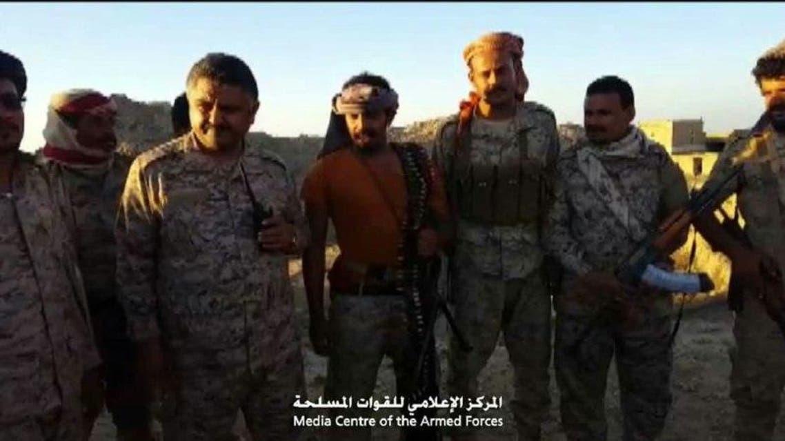 الجيش اليمني في رازح بصعدة 3
