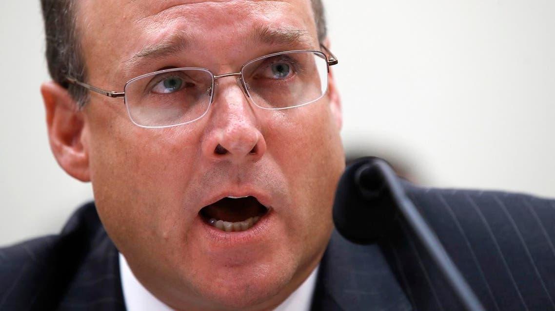 US Treasury's Assistant Secretary for Terrorist Financing Marshall Billingslea. (AP)