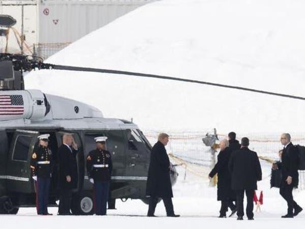 ترمب يصل دافوس في أول مشاركة لرئيس أميركي