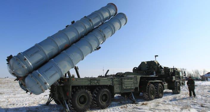إس 400 نظام صاروخي روسي