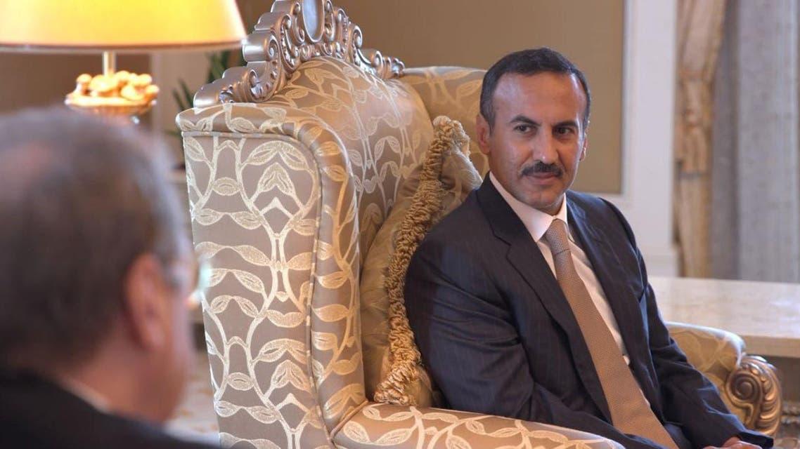 نجل صالح يلتقي مسؤولا روسيا 2
