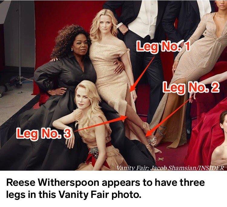3 سيقان للممثلة ويذرسبون
