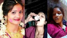 Bride-to-be dies after filming herself drinking poison