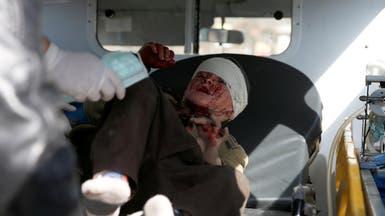 صورة مأساوية لطفل بتفجير كابول.. اختلاط الدموع بالدم