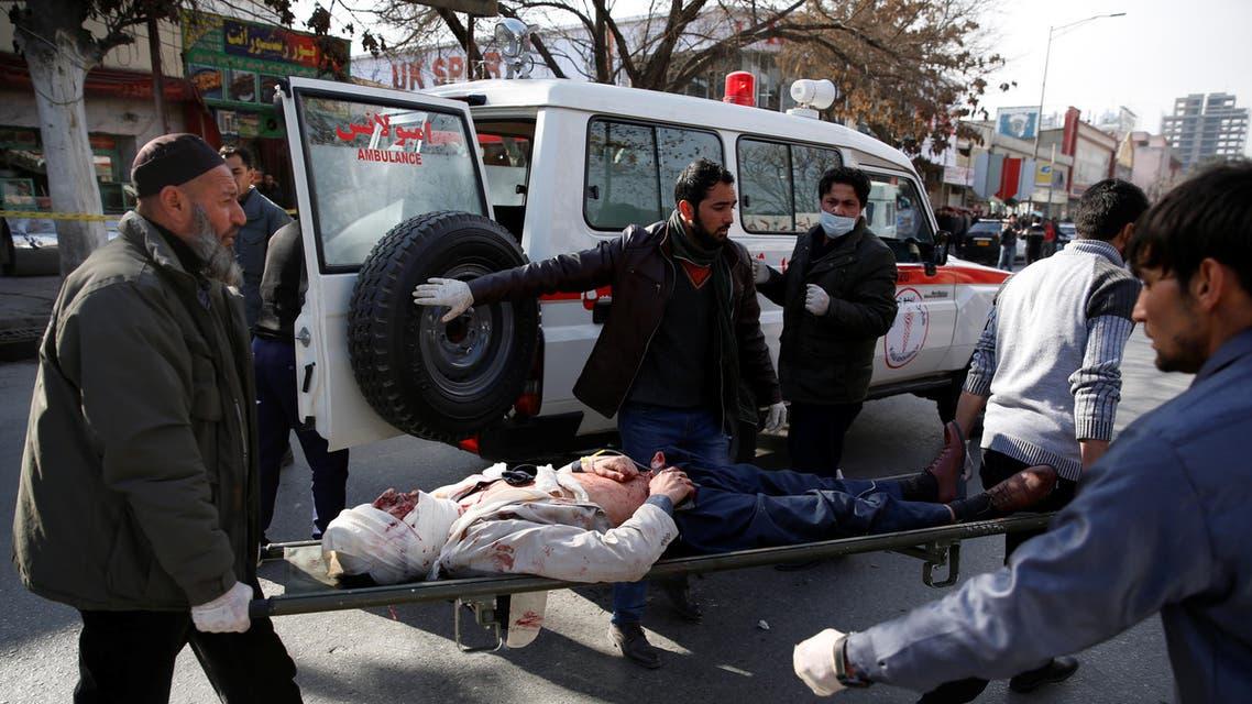 تفجير كابول