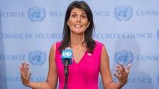 Nikki Haley says Trump to lead UN Security Council talks on Iran