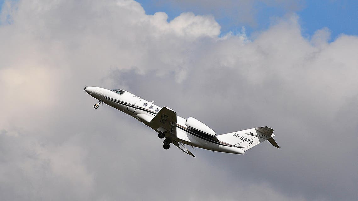 RANKFURT,GERMANY-SEPTEMBER 24,2015: Private Aircraft Cessna 525C CitationJet 4 lands at Frankfurt airport. (Shutterstock)