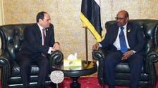 صدر السیسی اور حسن البشیر کی مصر اور سوڈان کے درمیان تعلقات کے فروغ پر بات چیت
