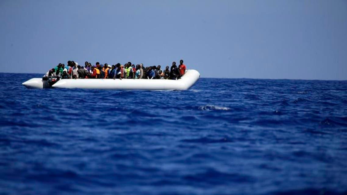 Libya Italy Rubber Boat