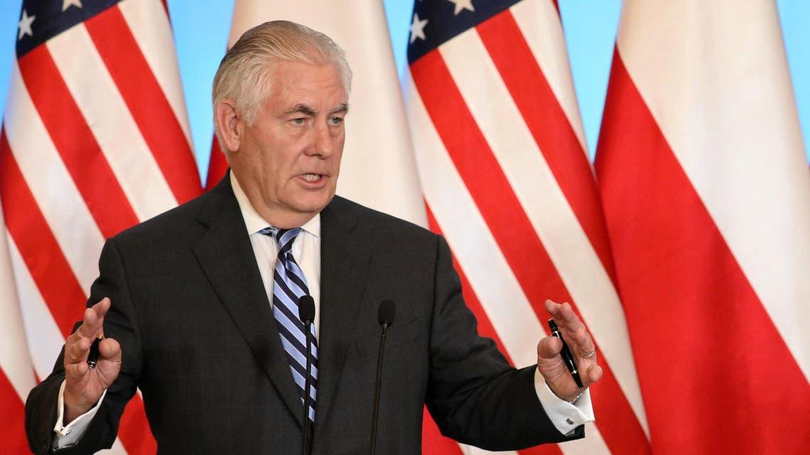وزير الخارجية الأميركي ريكس تيلرسون وارسو