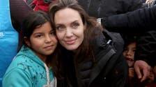 أنجيلينا جولي من الزعتري:أعشق اللاجئين ويجب حل أزمتهم