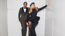Beyonce shines in black gown by Lebanese couture house at pre-Grammy's gala