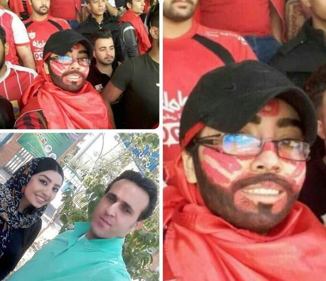 إيرانيات يلجأن لحيل غريبة لدخول الملاعب