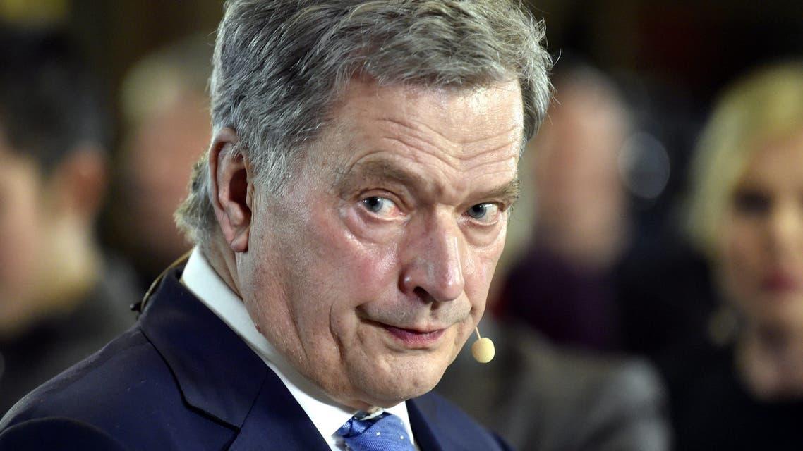 الرئيس الفنلندي ساولي نينيستو