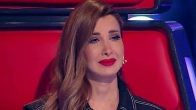 گریه نانسی عجرم در مسابقه «ذ ويس كیدز» کشورهای عربی
