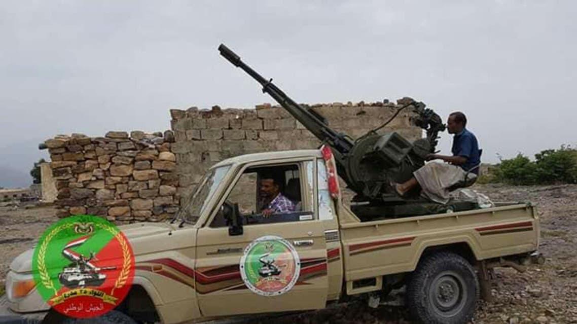 قوات الجيش اليمني في الصلو بعد استكمال تحريرها
