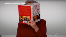 Hillary Clinton surprises with Grammy 'Fire and Fury' spoof