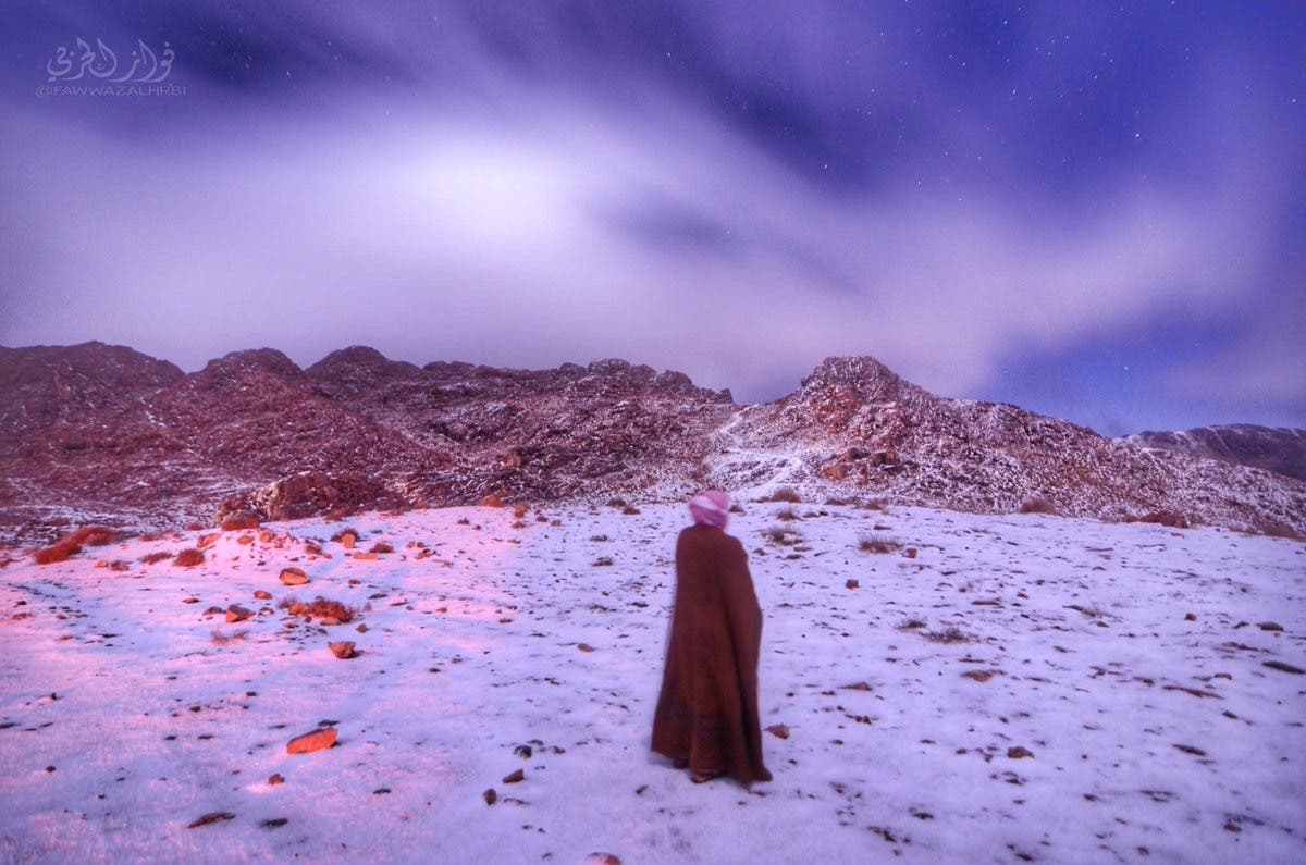 Saudi Snow. (Supplied)