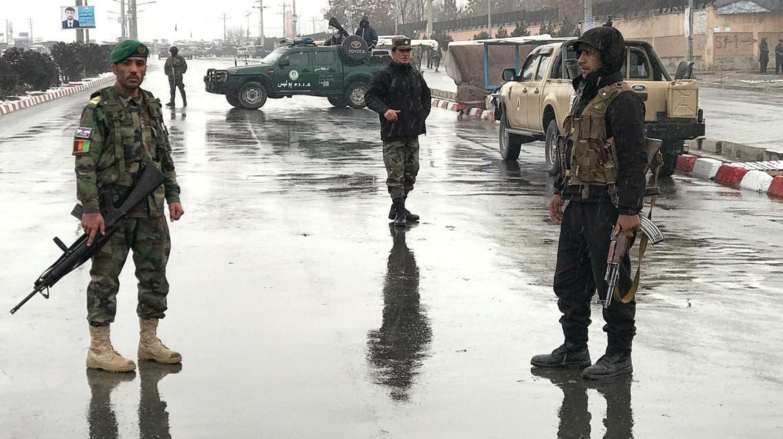 عناصر من الشرطة الأفغانية - كابول 3
