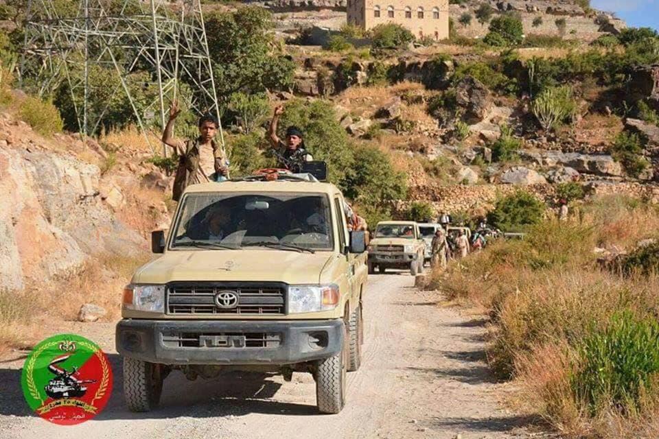 الجيش اليمني في الصلو بتعز بعد تحريرها
