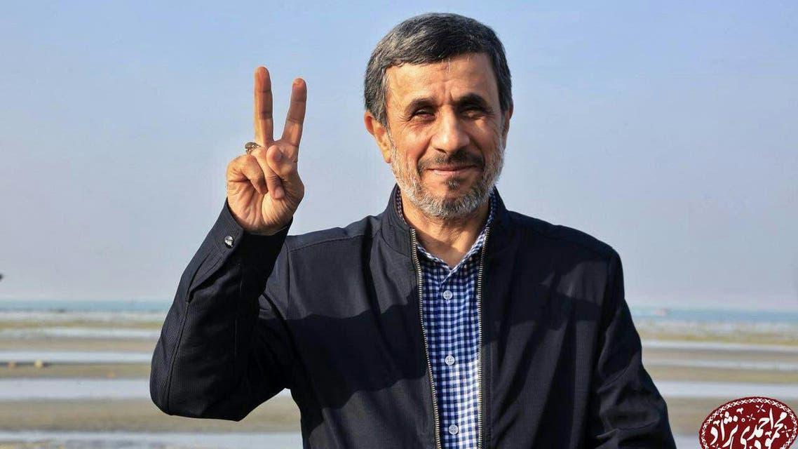 الرئيس الايراني السابق محمود أحمدي نجاد