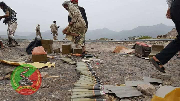 الجيش اليمني في مرتفعات الصلو المحررة