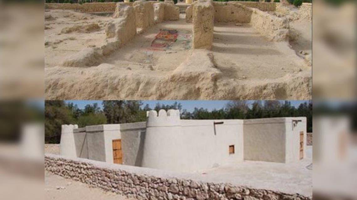 """مسجد """"جواثا"""" التاريخي"""